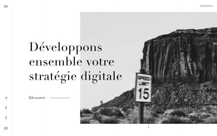 Screenshot of Everess - Agence Web | Troyes, Paris