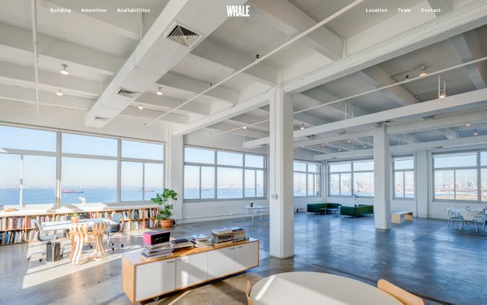 Screenshot of Whale Brooklyn - Commercial Space for Rent