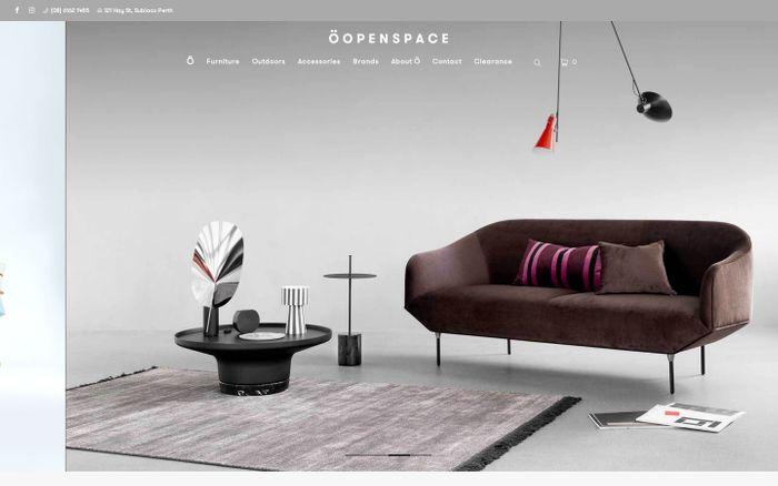 Screenshot of ÖOPENSPACE Furniture Design | Perth Leading Designer Furniture Store