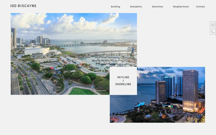 Screenshot of 100 Biscayne