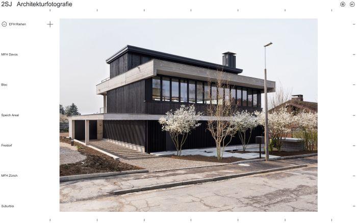 Screenshot of 2SJ Architekturfotografie