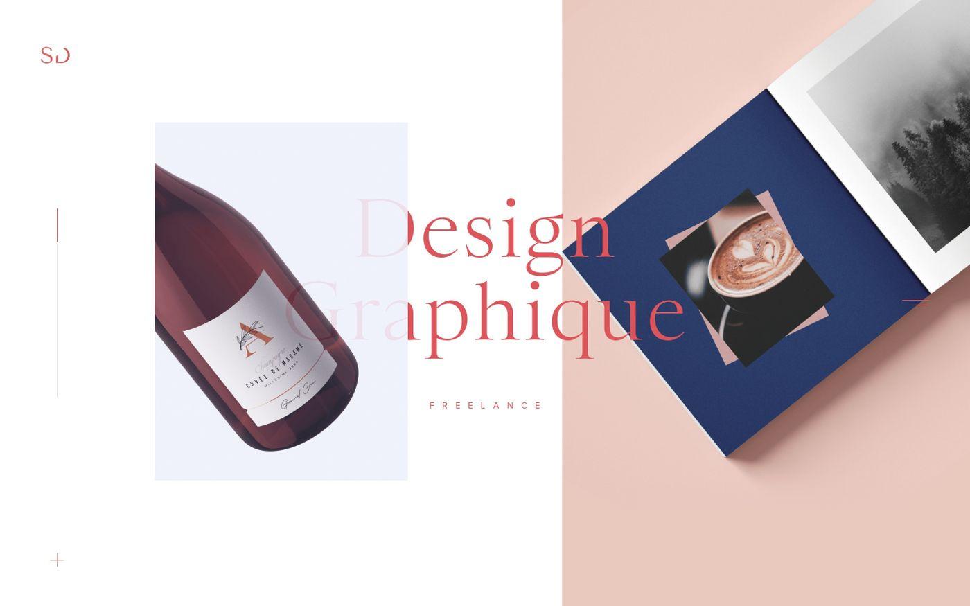 Screenshot of Accueil | Sophie Doukhopelnikoff / Graphiste Freelance - Puy de Dôme website