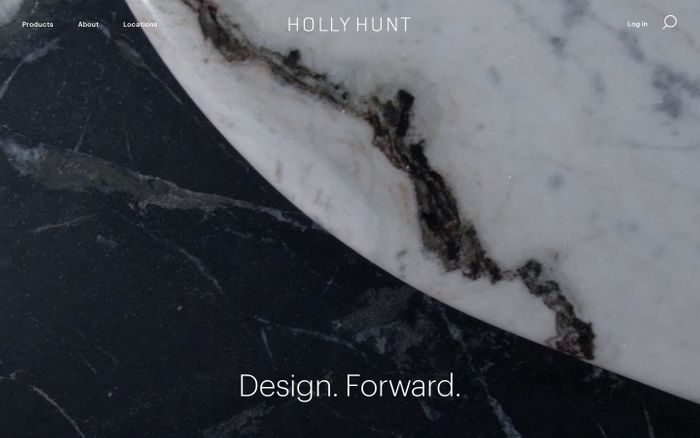 Screenshot of Holly hunt