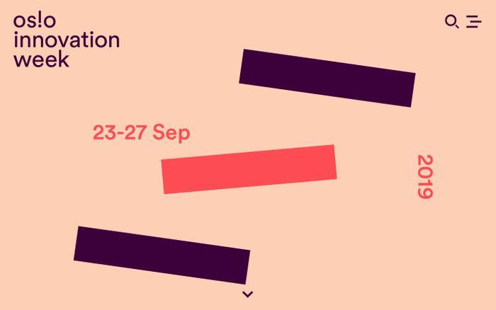 Screenshot of Oslo Innovation Week 2019
