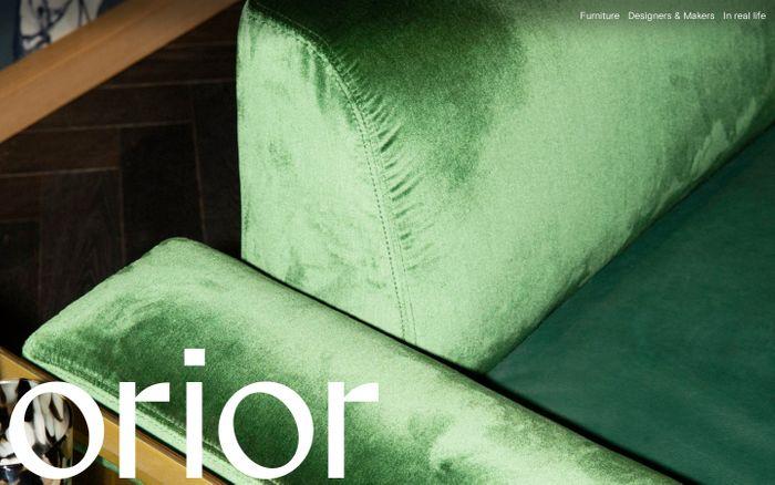 Screenshot of Orior Furniture