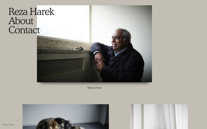 Screenshot of Reza Harek