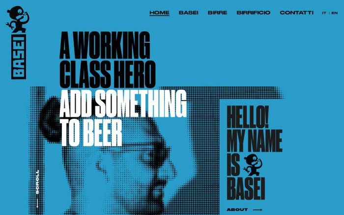 Screenshot of Birrificio Basei a Latisana (UD). Working Class Beers | Basei Brewery