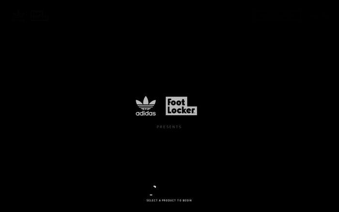 Screenshot of adidas – CHILE20