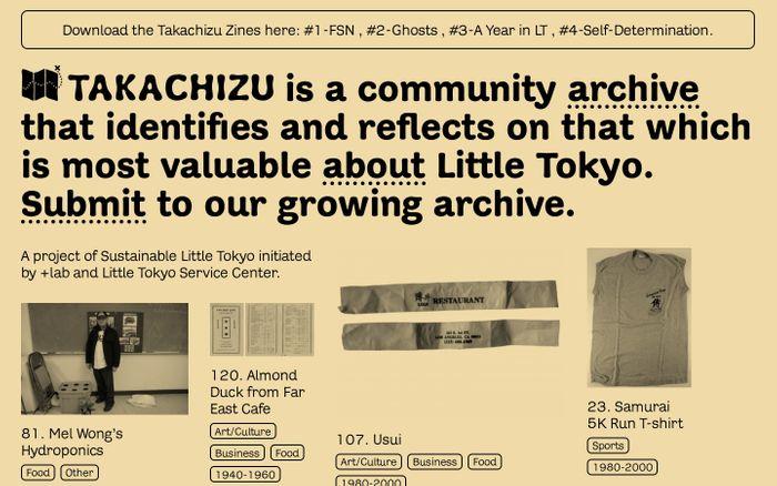 Screenshot of Takachizu