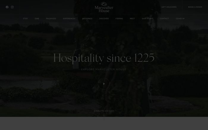 Screenshot of Maryculter House Hotel in Aberdeen - 4 Star Luxury Hotel