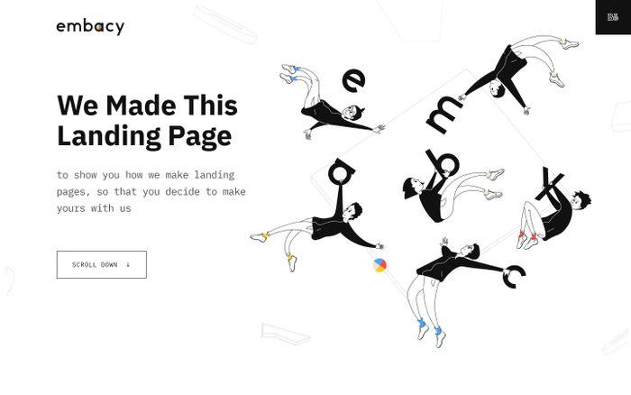 Screenshot of Let's make your landing page together ?