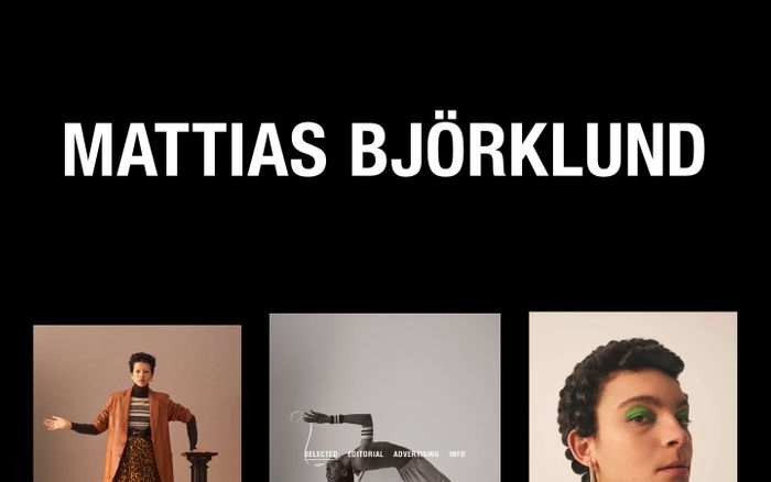 Screenshot of Mattias Björklund