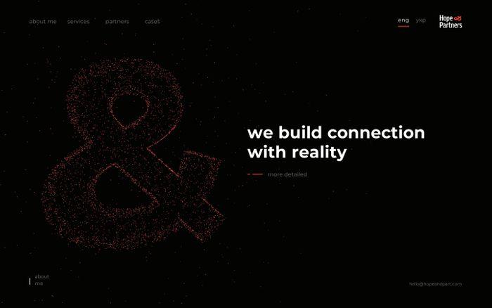 Screenshot of Hope&Partners | Vision&Reputation agency