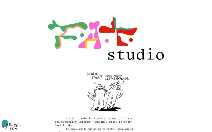 Screenshot of F.A.T. Studio