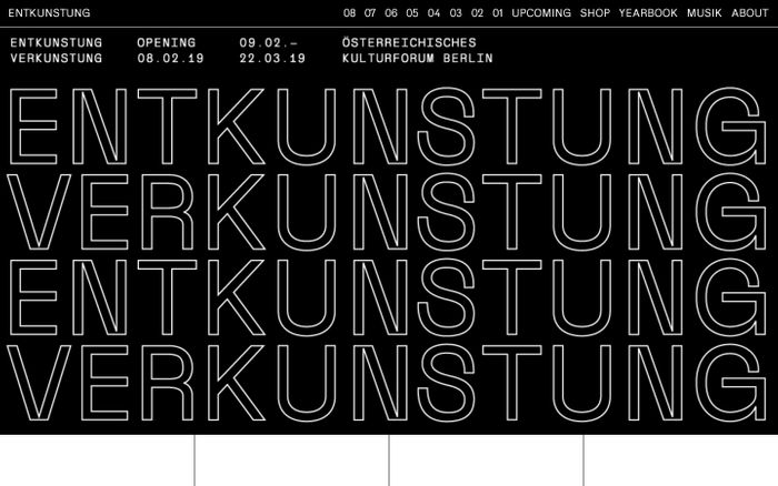 Screenshot of ENTKUNSTUNG