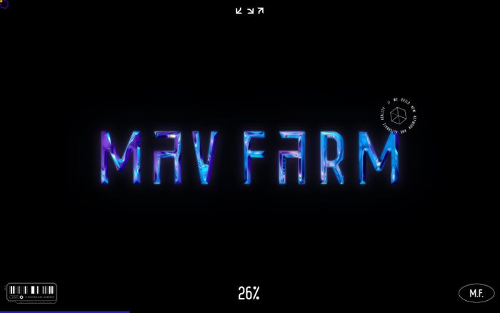 Screenshot of Mav Farm™ website