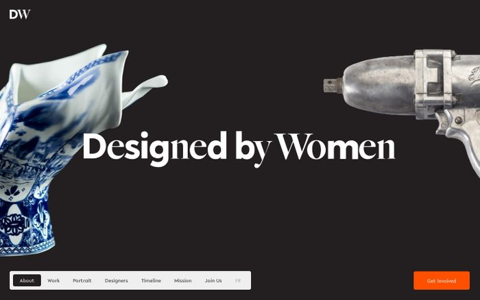 Screenshot of Designed by Women explores international design from 1900 to the present. — Designed by Women