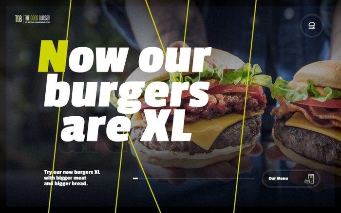 Screenshot of The Good Burger
