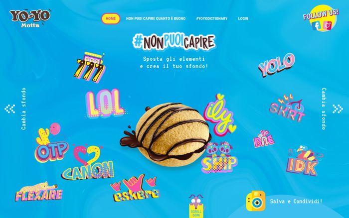 Screenshot of Yo-Yo Motta, la merendina così buona che #NonPuoiCapire