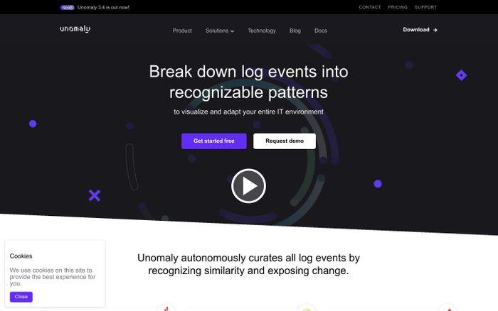 Screenshot of Unomaly