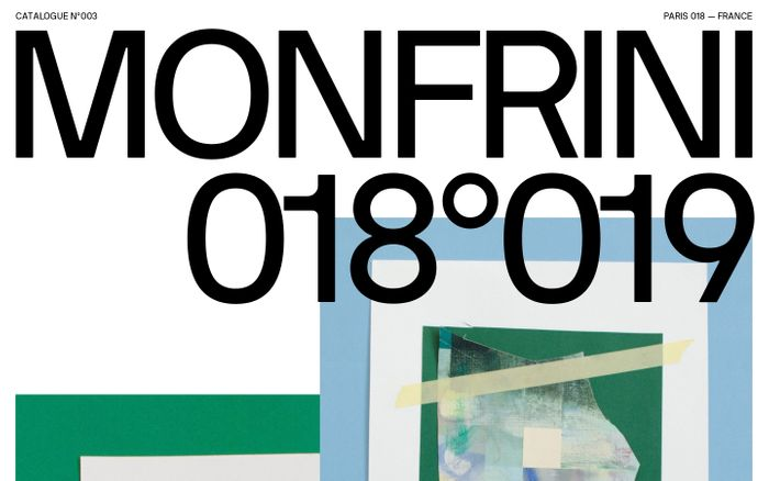 Screenshot of Florian Monfrini — Catalogue 018°019