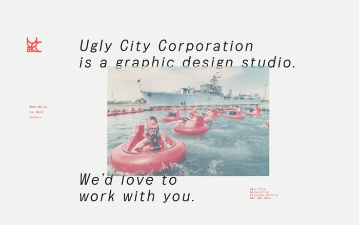 Screenshot of Ugly City Corporation