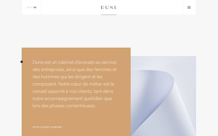 Screenshot of Dune