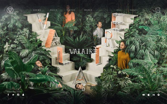 Screenshot of Valaire