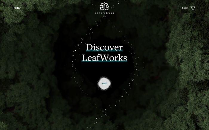 Screenshot of LeafWorks Marketplace