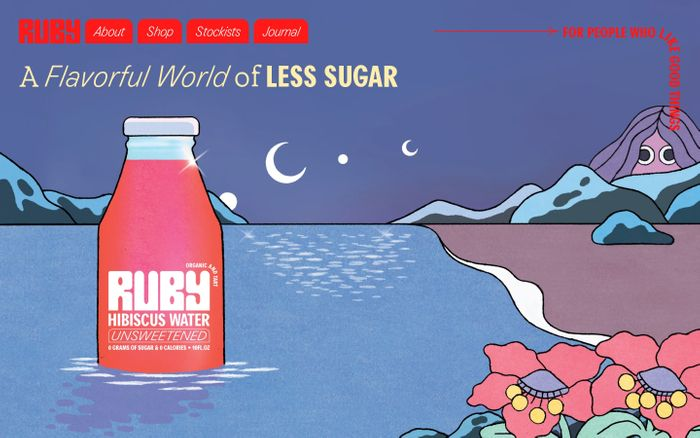 Screenshot of Ruby hibiscus water