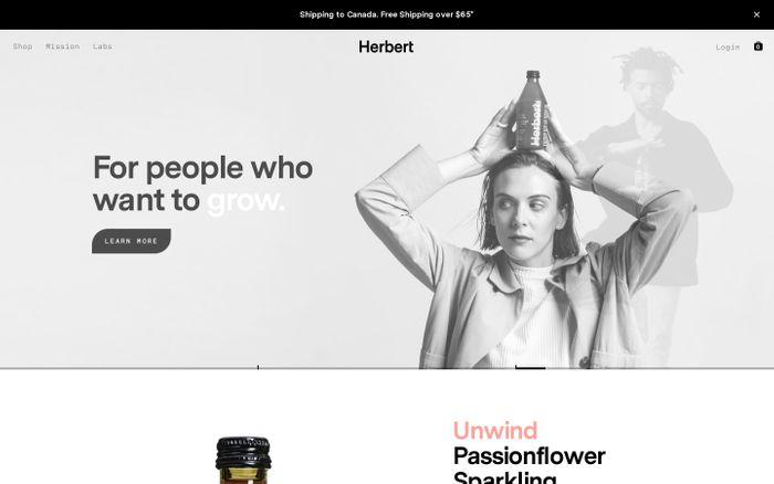 Screenshot of Herbert Labs