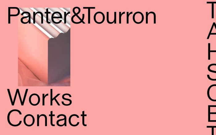 Screenshot of Panter&Tourron – Design and consultancy studio
