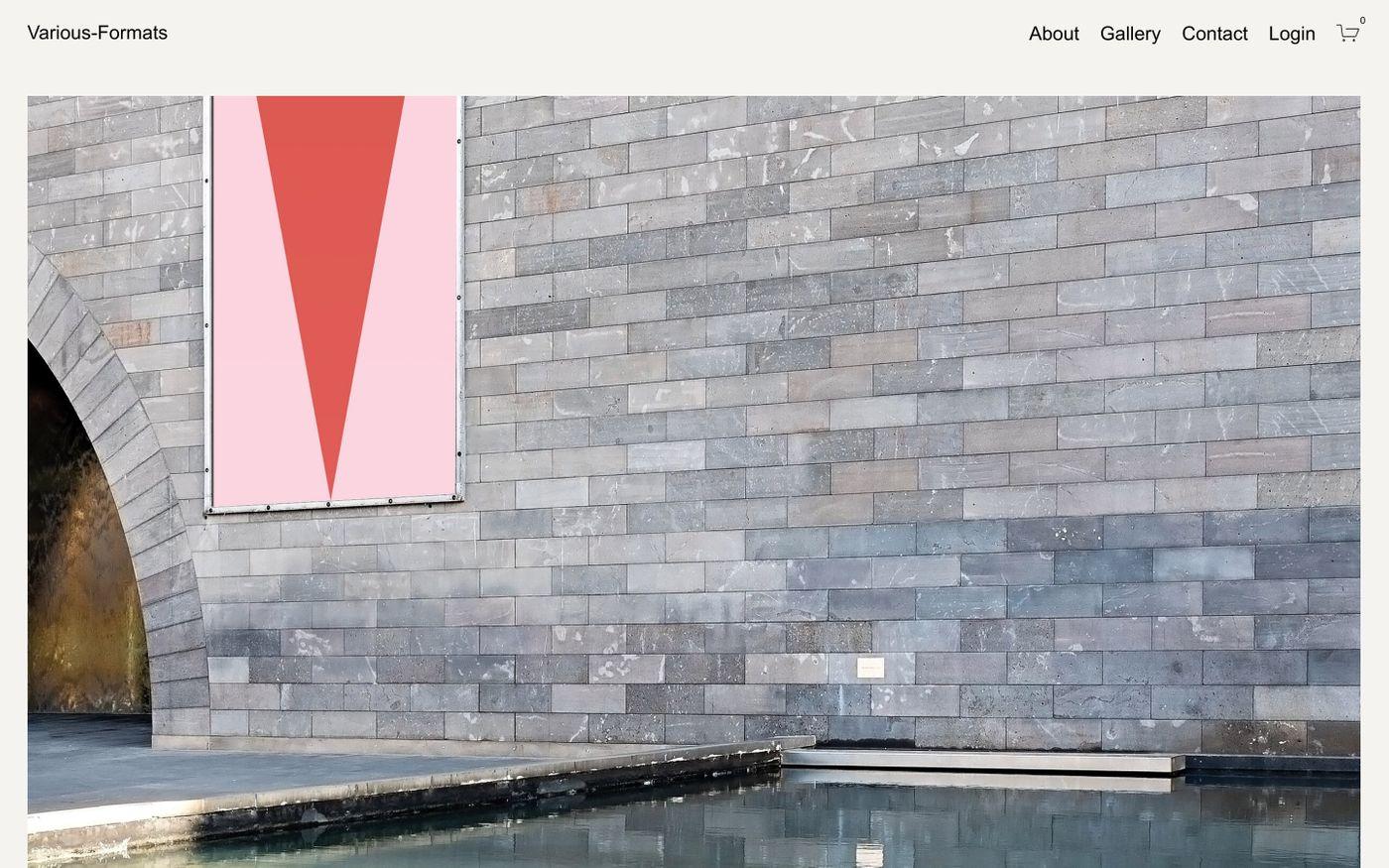 Screenshot of Various-Formats website
