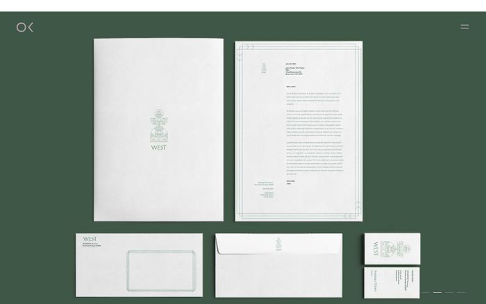 Screenshot of OK Studio | Identities & Goods