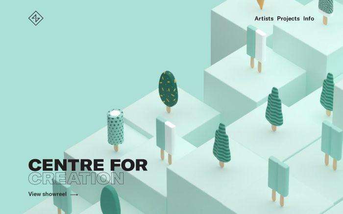 Screenshot of Artbox Amsterdam - Artbox Website