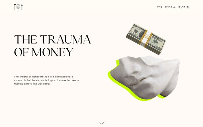 Screenshot of TRAUMA OF MONEY