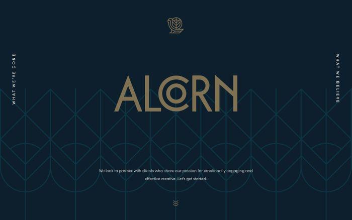 Screenshot of Alcorn : Branding/Marketing Agency Fort Worth, Texas