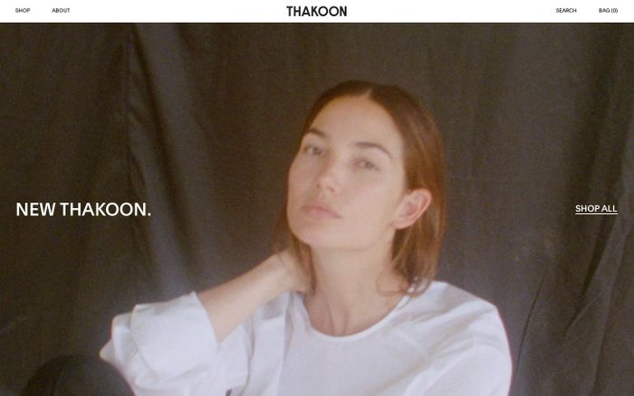 Screenshot of THAKOON | Official Store