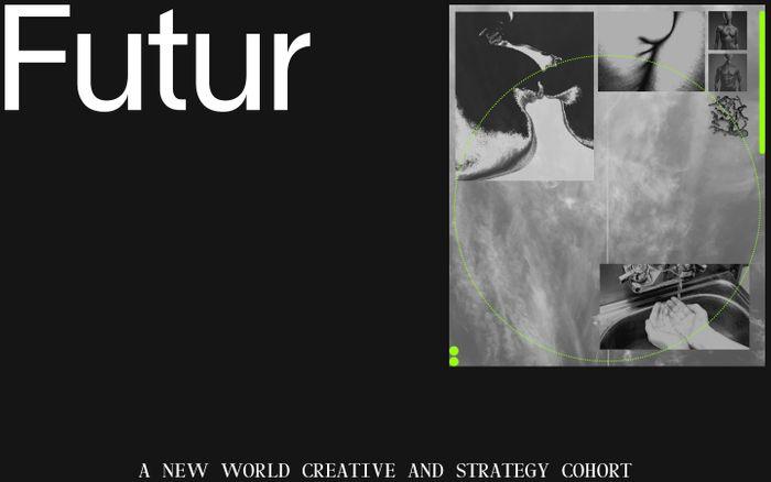 Screenshot of Futurimpose | Compass for Imagination, Collaboration and Regeneration.