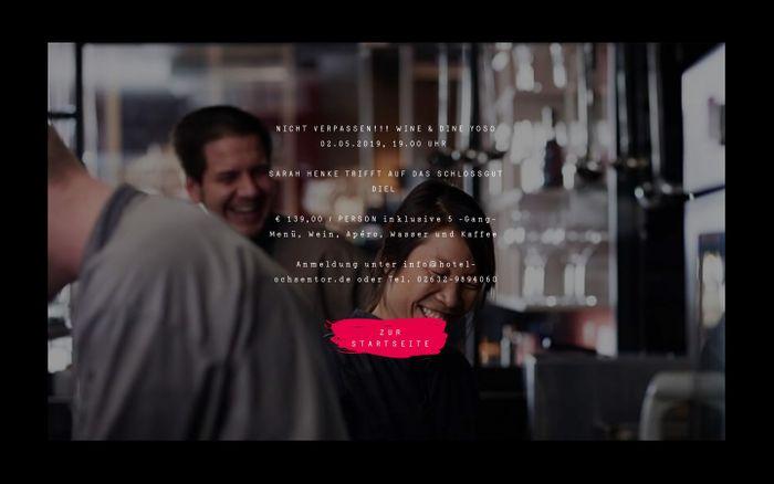 Screenshot of YOSO Andernach - Aromenküche Sarah Henke