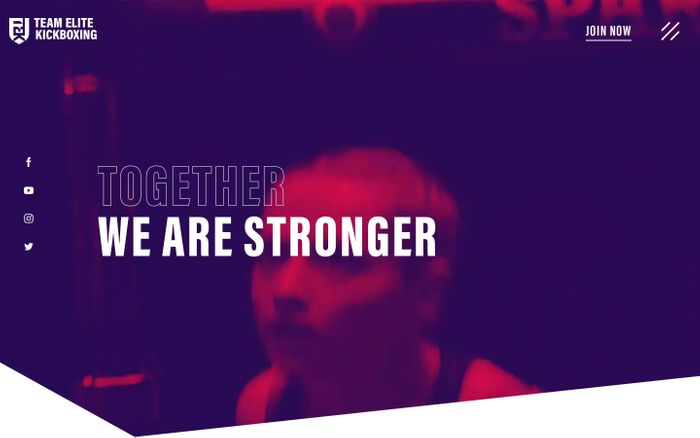Screenshot of  Team Elite Kickboxing - Together we are stronger
