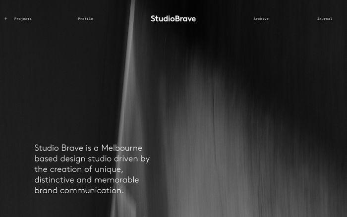 Screenshot of StudioBrave