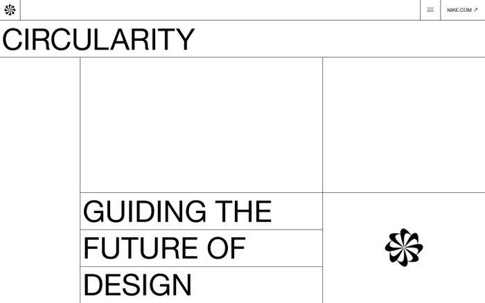 Screenshot of Nike Circular Design Guide