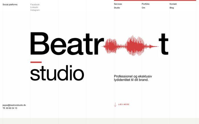 Screenshot of Beatroot Studio