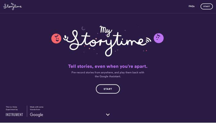 Screenshot of My Storytime