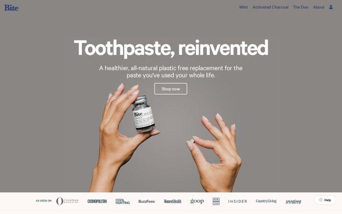 Screenshot of Bite - Toothpaste Bits