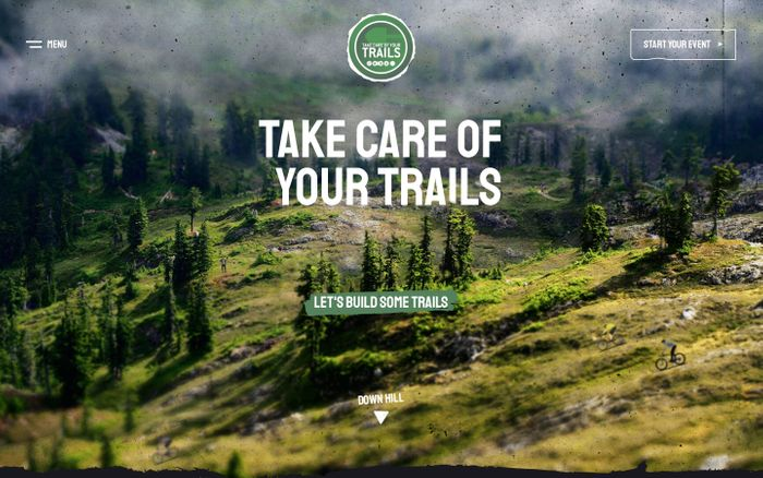 Screenshot of  Take Care of Your Trails