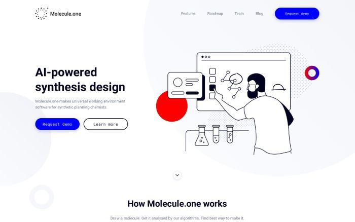 Screenshot of Molecule.one