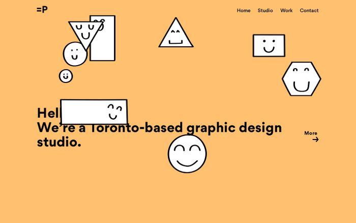 Screenshot of Equal Parts Studio | Toronto Branding and Graphic Design Studio