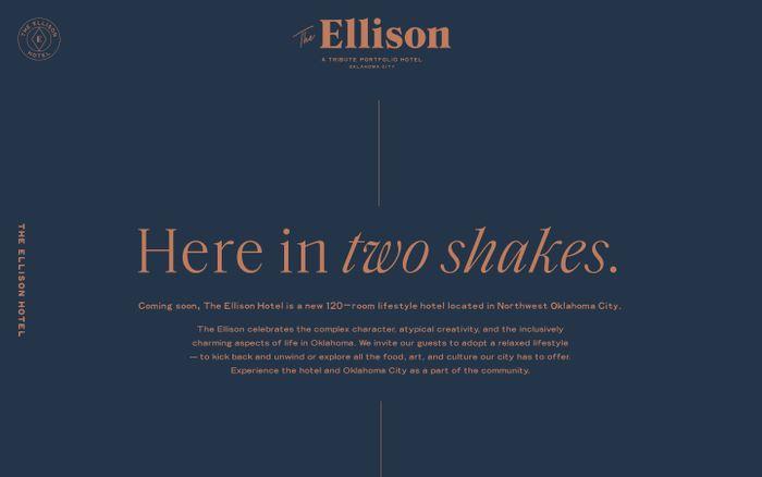 Screenshot of  The Ellison
